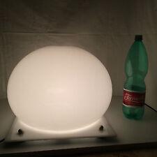 grande lampada bolla perspex vintage anni 70 space age lamp lampe martinelli?