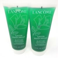 (2) Lancome Savon Fraîchelle Invigorating Body Cleansing Gel 2.0 fl oz IMPERFECT