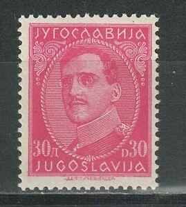 Yugoslavia kingdom 1931 - 30 Din ☀ King Alexander Mi 237 I - 30 Eur ☀ MNH**