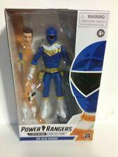 "Power Rangers Zeo Blue Ranger Lightning Collection 6"" Action Figure *In Hand!"