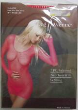 Leg Avenue 2 pc Industrial Net Dress w/G String (red) NWT Style 8382