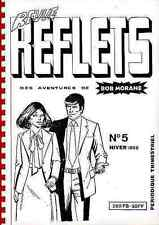 revue REFLETS 5 1988 BOB MORANE Henri VERNES fanzine Free EXLIBRIS Gratuit