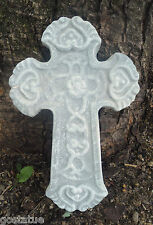 plaster concrete poly plastic cross mold unbreakable mold great for all casting