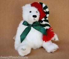 Boyds Bears Plush Jolly Christmas Polar Bear  2012 RET