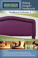 Home Decor 1-2-3 Making Designer Headboards Collection 3