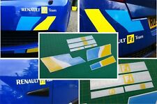 Renault Sport Megane R26 230 RS F1 Team decal set stickers graphics restoration