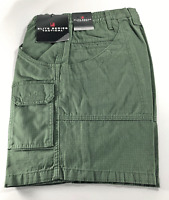 Woolrich Tactical Elite Mens 30 32 Ripstop ODG Cargo Shorts Olive Drab Green