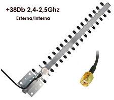 ANTENNA WIRELESS 38 DBI ESTERNO WIFI 2.4 GHZ LINQ WF-38DB
