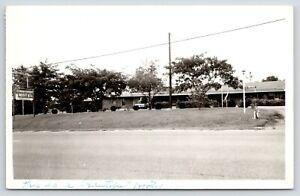 Rock Hill SC~Cedar Front Motel~Roadside US 21~DV McGuire Managers~1950s RPPC