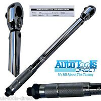 """3/8"""" Drive Torque Wrench Calibrated Range 20 - 110Nm Certificate Of Calibration"""