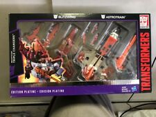 Transformers Platinum Edition Blitzwing & Astrotrain Triple Changers IN STOCK US