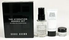 Bobbi Brown The Hydration Heroes 3 Piece Set Oil, Eye Cream & Face Base NIB