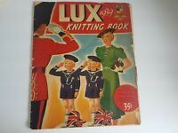 Lux Knitting Book 1939  Vintage Book