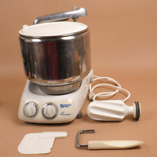 Magic Mill Assistent Professional DLX 2000 Mixer w Stainless Bowl & Attachments