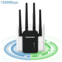 1200Mbps Wireless WiFi Repeater Range Extender Signal Booster Network Router