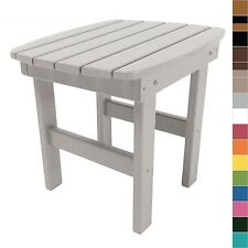 Pawleys Island Adirondack Side Table End Table Poly Durawood Outdoor Furniture