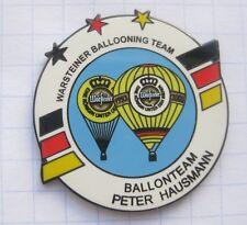 PETER HAUSMANN / WARSTEINER BALLOONING TEAM  ... Bier-Ballon-Pin (125K)