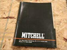 Vintage 1986 87 Mitchell Fishing REEL parts catalog manual folder