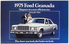 Ford 1975 Granada Ghia Sales Brochure