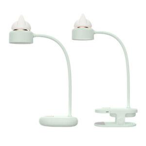 2 in 1 Table Desk Lamp USB LED Night Light Clip-on Eye Protection Reading Light