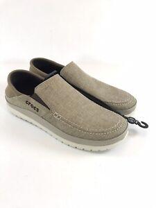 Crocs Santa Cruz Playa Slip On Shoes Mens Size 11 204835-26P