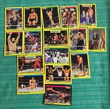 WWF SERIE GOLD CARD-FIGURINE MERLIN - 16 carte