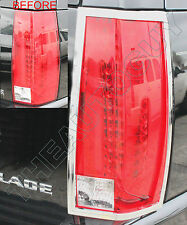 2011 2012 2013 2014 CADILLAC ESCALADE/ESV CHROME PLATED TAIL LIGHT BEZELS COVERS
