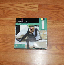 NWT Womens Cuddl Duds Shadow Gray Fleece Warm Layer Leggings Sz S Small 6 - 8
