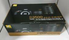 D3500WZ Nikon Double Zoom Lens Kit Digital SLR Camera 2018 from Japan