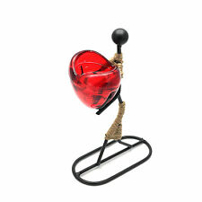 Girl / Woman Gives Heart tea light Candle holder (ROMCH-13)
