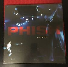 PHISH A LIVE ONE 4LP RED/BLUE COLORED VINYL