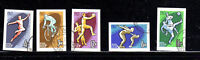 RUSSIA #2759-2763  1963  SPORTS  IMPERF.      MINT VF NH O.G  CTO