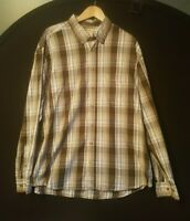 Men's CAMEL ACTIVE Regular Fit Long Sleeve Check Shirt, Size 2XL/XXL Lumberjack