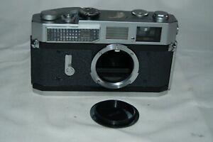 Canon-7 Vintage 1965 Japanese Rangefinder Camera. Serviced. No.910022. UK Sale