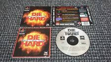 Sony PS1/Playstation 1 DIE HARD TRILOGY senza Scatola Testato & Lavoro (RS4)