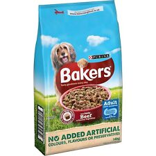 Bakers Adult Dog Food Beef and Veg 14 kg Source Of Essential Omega 6 Fatty Acids