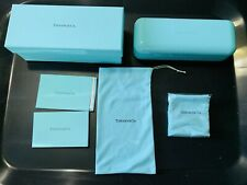 Tiffany & Co Authentic Glasses/Sunglasses Case with Box and Accessories Set NEW