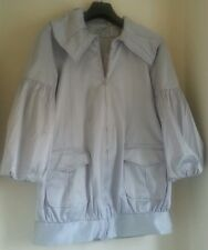 LOVELY MONSOON FUSION FULLY LINED SILVER EVENING/OPERA JACKET IN SIZE 10.