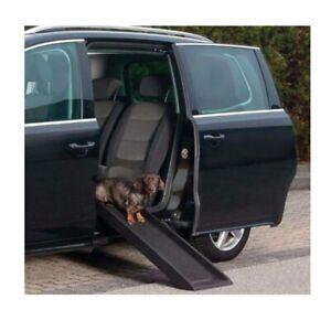 Trixie Petwalk Ramp, Dog Cat Pet Sofa Car Bed SUV Auto Safety Climb Steps Access