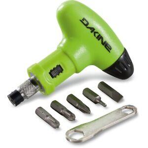 Dakine Torque Driver Snowboard Tool Green NEW bindings screwdriver