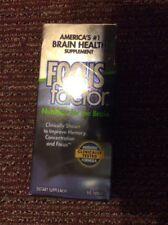 FOCUS FACTOR Nutrition for the Brain {60} tablet count Exp. 08/19