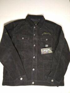 Billabong AI Metallica Black Jacket X-Large XL NEW