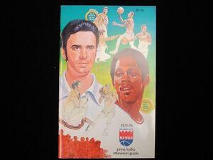 1975-76 Kansas City Kings Basketball Media Guide