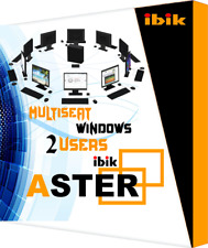 Aster (1 PC = 2 Users) ibik Multiseat