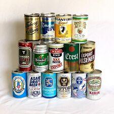 International Beer Can Lot of 15 Al Pt 330 - 375 ml Crest Tooheys Ganter (2)