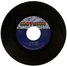"""THE JACKSON 5  """"I'LL BE THERE c/w ONE MORE CHANCE""""  MOTOWN    LISTEN!"""