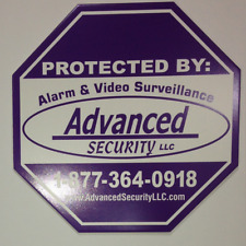Advanced Security Sign