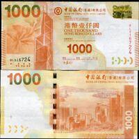 2012 Hong Kong 100 Dollars UNC/>COMM.100th of BOC Bank of China,In folder