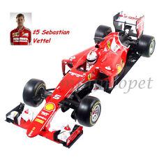 Bburago 18-16801 2015 Ferrari Formula 1 F1 Sf15-T Sebastian Vettel #5 1/18 Red