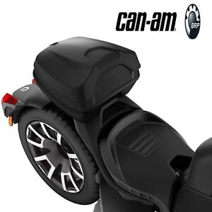 NEW OEM CAN-AM RYKER LINQ TOP CASE - BLACK - MAX MOUNT REQUIRED 219400764